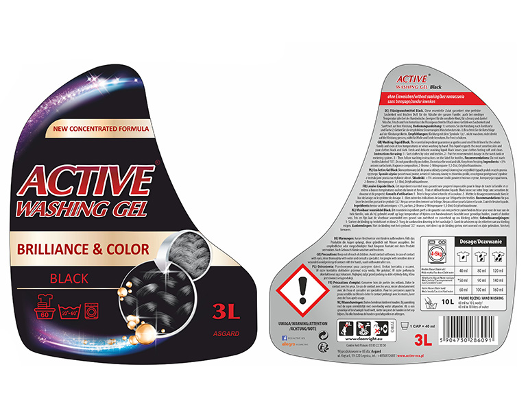 Active pranie 3L black